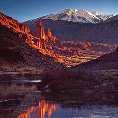 ~ Fisher Towers ~ Moab, Utah....