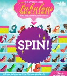 Charlotte Russe Fabulous Shoes Sweepstakes!