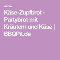 Käse-Zupfbrot - Partybrot mit Kräutern und Käse | BBQPit.de