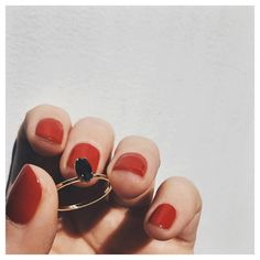 Cult fave - the 'Tiny Marquis Ring' by @bingbangnyc.
