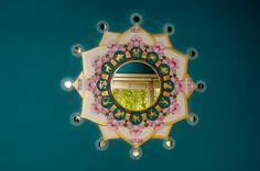 Cosmic Lotus Mural, by Aspen Moon