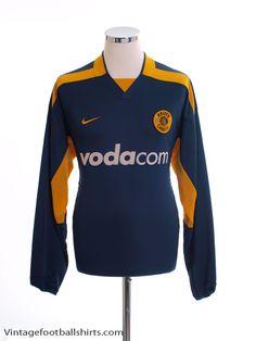 Kaizer Chiefs Away Shirt L/S M for sale Premier Soccer, Kaizer Chiefs, Offline Games, Vintage Football Shirts, Soccer League, Badges, Wetsuit, Smooth, Colour