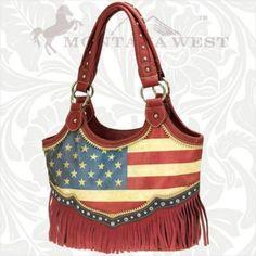 Montana West American Pride Collection Satchel Handbag | eBay