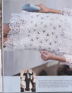 "Photo from album ""Журнал мод on Yandex. Crochet Art, Views Album, Beautiful, Women, Yandex Disk, Magazine, Blog, Fashion, Tinkerbell"