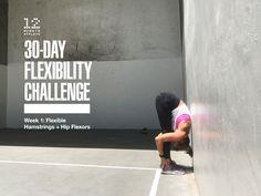 June Flexibility Challenge - Week 1: Flexible Hamstrings + Hip Flexors - 12 Minute Athlete