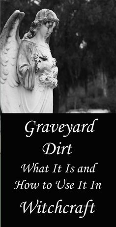 Graveyard Dirt: How to Use It in Witchcraft & Magic - Moody Moons Moon Spells, Magick Spells, Wicca Witchcraft, Wiccan Witch, Protection Spells, Witch Spell, Modern Witch, Coven, Book Of Shadows