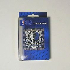 Dallas Mavericks NBA Basketball Playing Cards - Great for Poker by NBA. $4.99. Officially Licensed NBA merchandise. This is a brand new full deck of playing cards with Dallas Mavericks official logo on the front! Plastic Coated Playing Cards. Team logo design on back of cards! Standard deck 52 cards and 2 jokers, Standard Size. Would be a nice additon to your Poker Game.