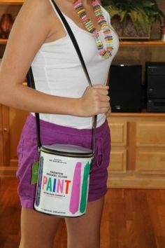 New Kate Spade Brushstroke Paint Bucket Can Handbag Bag Designer Artist Painter | eBay