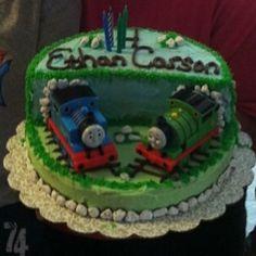 Thomas the train cake!
