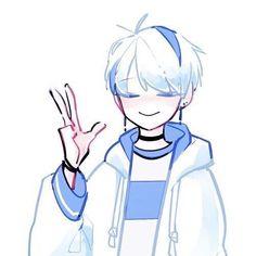 Fanarts Anime, Anime Chibi, Anime Art, Cute Anime Guys, Cute Anime Couples, Anime Couples Drawings, Anime Lindo, Cute Art Styles, Anime Love Couple