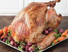 TURKEY ROASTING TIPS - Roast your turkey to perfection with these turkey roasting tips.