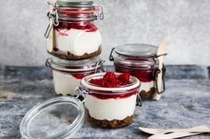 Cheesecake to go Bourbon Vanille, Cheesecake, To Go, Yogurt, Panna Cotta, Food And Drink, Desserts, Cooking, Ethnic Recipes