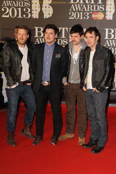 Mumford & Sons win best British group Brit Award