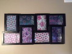 Learn how to make your own Menu Board/Family Planner using your gelli prints or other wonderful backgrounds you've collected in your stash. Great organizatio...