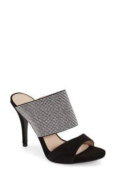 Pelle Moda 'Josie' Mule (Women) // sexy and modern shoes. these are perfect for the holidays and all year round. thanks @nordstrom