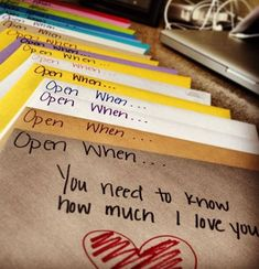 Trendy birthday presents diy open when letters 53 ideas Birthday Present Diy, Birthday Diy, Birthday Presents, Birthday Nails, Letter To My Love, Open When Letters, Diy Valentines Gifts For Him, Gifts For Your Boyfriend, Boyfriend Ideas