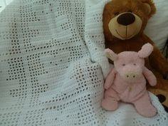 Teddy Filet Blanket