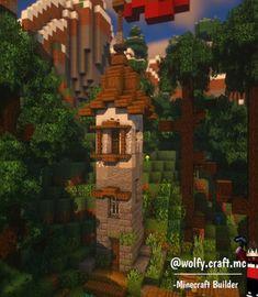 Minecraft Building Blueprints, Minecraft City Buildings, Minecraft House Plans, Minecraft Structures, Minecraft Cottage, Easy Minecraft Houses, Minecraft Castle, Minecraft House Designs, Minecraft Decorations