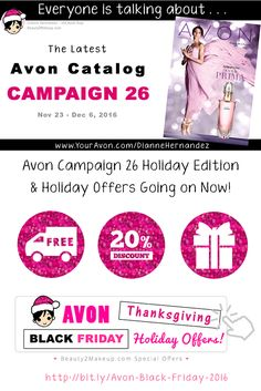 The New Holiday Avon Catalog is out! Take a look to to find the latest sales and deals in Skincare, Makeup, Jewelry Bath & Body and more! via @beauty2makeup