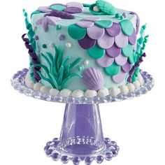 This Duff Goldman Mermaid Fondant Decorating Kit includes light purple, purple, and teal fondant. Your daughter will never forget her mermaid birthday party when you use this fondant decorating kit to make custom cupcakes, cookies, or a mermaid cake! Little Mermaid Parties, The Little Mermaid, Little Mermaid Cupcakes, Mermaid Birthday Cakes, Mermaid Birthday Party Ideas, Birthday Ideas, Custom Cupcakes, Salty Cake, Savoury Cake
