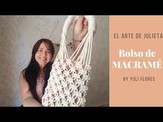 Patricia Belvedere – Welcome TV – Knit in Macrame a Portfolio Macrame Purse, Macrame Art, Macrame Knots, Micro Macramé, Macrame Youtube, Nudo Simple, Diy Bags Purses, Bracelet Tutorial, Diy And Crafts