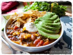 Thank God Bourbon is Vegan: Tortilla Soup