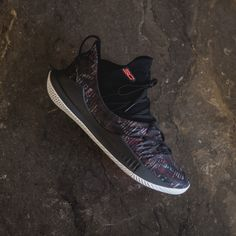 61ba667af3a43 UA Curry 5 - Black White-Neon Coral. History of New York Powered by   Sneaker Lounge