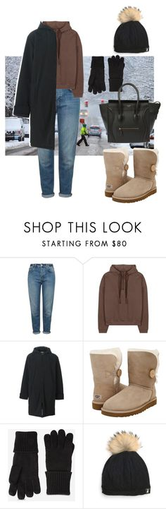 """A new yorker in a blizzard. 26th January 2016"" by neflaluna on Polyvore featuring Topshop, adidas Originals, UGG Australia, Y-3, CÉLINE, women's clothing, women's fashion, women, female and woman"