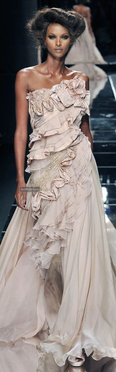 Elie Saab Fall Winter 2008 Haute Couture