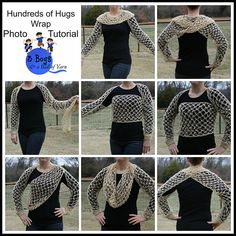 Ravelry: Hundreds of Hugs Wrap #crochet #pattern by Melanie Padron of @3BoysBallofYarn