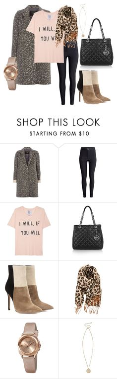 """Happy are those who dream dreams and are ready to pay the price to make them come true. —Unknown"" by emma-oloughlin ❤ liked on Polyvore featuring Dorothy Perkins, H&M, Zoe Karssen, MICHAEL Michael Kors, Gianvito Rossi, BP., Akribos XXIV and River Island"