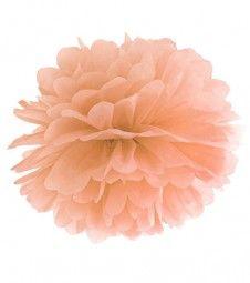 Pom Pom - 35 cm - pfirsich