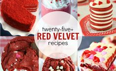 JUST IN TIME for Valentine's Day: 25+ Red Velvet Recipes!