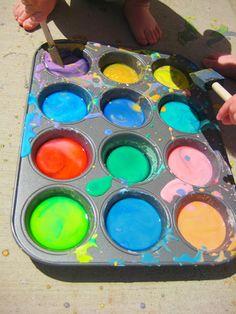 sidewalk paint diy