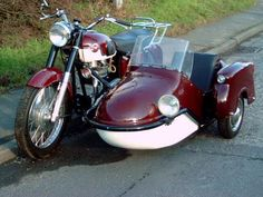 A 1961 Matchless motorcycle and sidecar combination, JVS 323, 650cc #motorcycle