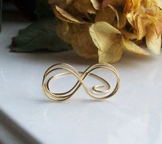 INFINITY Short Wire Place Card  Table Number Holder  You