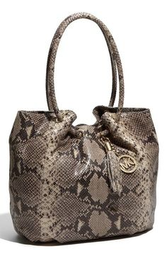 Michael Kors snake skin purse