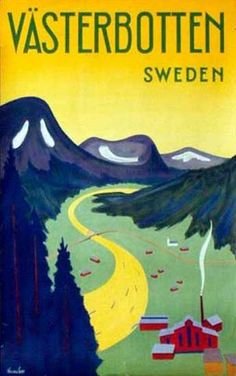 Another vintage travel poster to feel kindly towards...