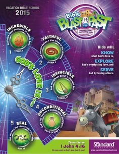 The past pastport see more vbs bible blast blast to the past pastport