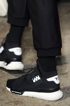Y3 QASA Black+White. Would be good for a full page advertisement, fits the theme.