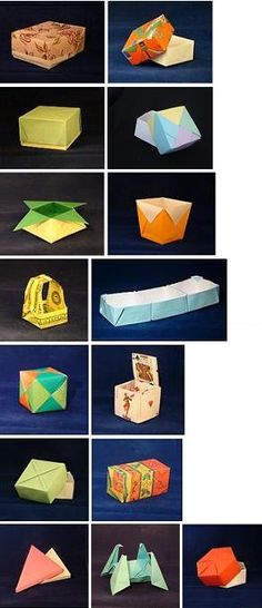 Origami Boxes by Tomoko Fuse