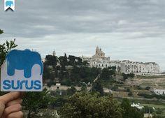 #Surus a #Locorotondo, uno dei borghi più belli d'Italia in provincia di Bari (Italia) / Surus and Locorondo (Italy)