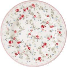 Bella Rose, Small Plates, Gates, Safe Food, Vintage, Tableware, Pink, Flowers Garden, Croissant