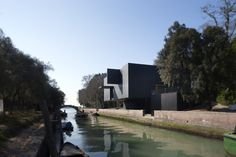 Denton Corker Marshall's Australian pavilion in Venice. Contemporary architecture