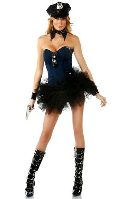 Posh Patrol - Sexy Police Costume
