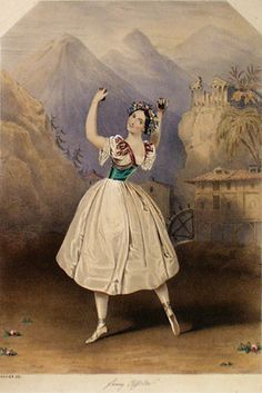 Fanny Essler en 1845 - La Tarentule