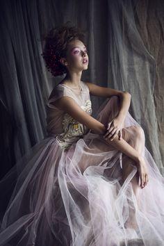 ANNA by anna kubanova, via Behance