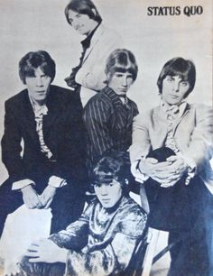 Status Quo in the sixties, another band I used to go see.