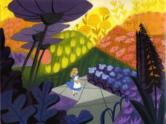 The Colours of Mary Blair an artist for the Walt Disney Company during the and She produced incredible concept art for films such as Alice in Wonderland, Cinderella and Peter Pan. Mary Blair, Art Disney, Disney Artists, Disney Concept Art, Disney Magic, Disney Parks, Alice In Wonderland 1951, Classic Disney Movies, Dreamworks