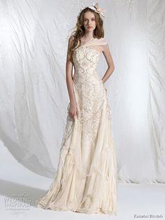 bohemian princess wedding dress 2011 - Aralia bridal gown